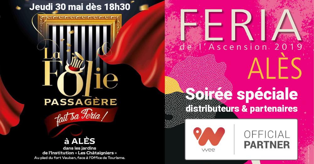 Feria d'Alès wee avec La Folie Passagère