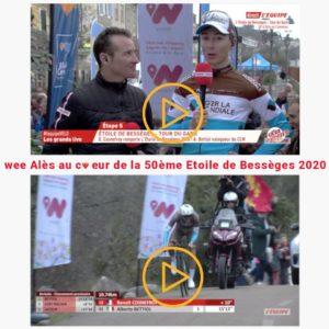 Replay de la course cycliste