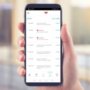 Smartphone avec weeApp cashback en euros